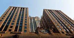 Foto da bolsa de valores de Chicago, onde o bitcoin fez seu ingresso no mercado financeiro - Reprodução