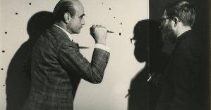 Lucio Fontana e Le Jour, 1962 - Cortesia Filip Tas