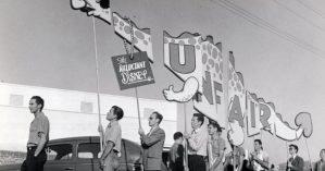 Animadores grevistas em 1941 - Collections of Bob Cowan