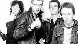 Os integrantes do The Clash - Reprodução