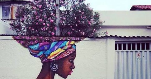 Grafite na região de Santo Amaro, no Recife. Artista desconhecido - Reprodução
