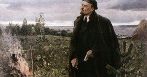 'Vladimir Lenin (1870-1924)', Mikhail Kupriyanov, Porfiry Krylov e Nikolai Sokolov, 1949