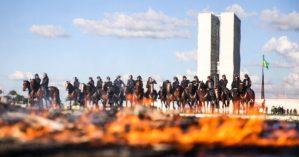 Manifestação contra as reformas de Temer em 2017 - Marcelo Camargo/ Agência Brasil