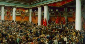 "Isaac Brodsky, ""2º Congresso do Comintern"", 1924"