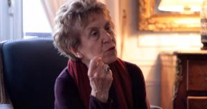 A historiadora Michelle Perrot - Reprodução