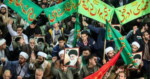 Protestos na capital Teerã em dezembro do ano passado - HAMED MALEKPOUR/AFP/Getty Images