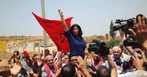 A ativista Khalida Jarrar - Reprodução