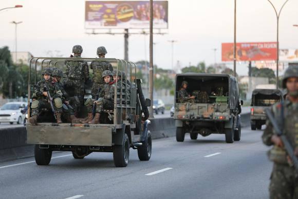 Não à intervenção militar de Temer! Pela antecipação das eleições ao governo do estado!