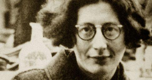 A pensadora Simone Weil - Reprodução