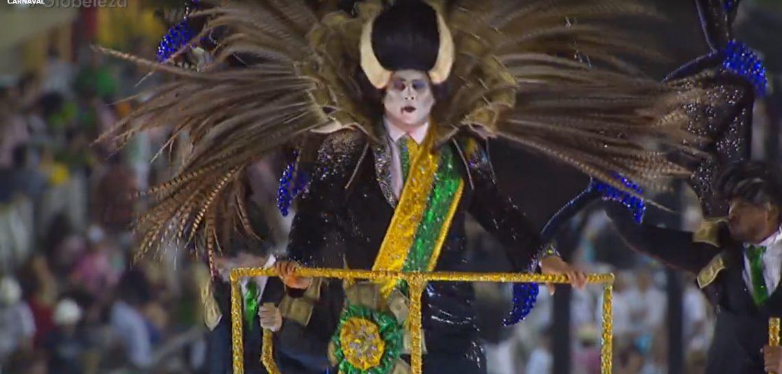 O carnaval retratou o verdadeiro Brasil