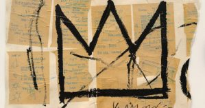 """Untitled(Crown)"", Jean-Michael Basquiat, 1982"