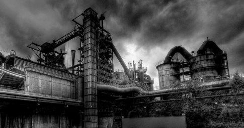 Fábrica de aço nos EUA - Reprodução