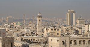 Vista de Aleppo - Reprodução.