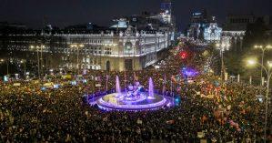 Manifestações do 8 de março tomam conta de Madri - Carlos Rosillo