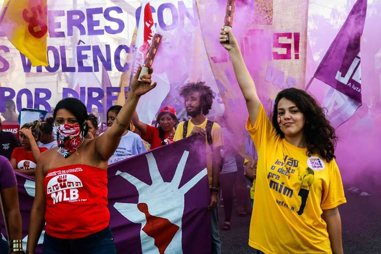8M: Juntas construindo um feminismo dos 99% no Brasil