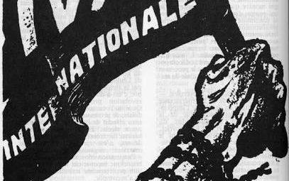 Capa da revista Quatrième Internationale que anuncia a fundação da IV