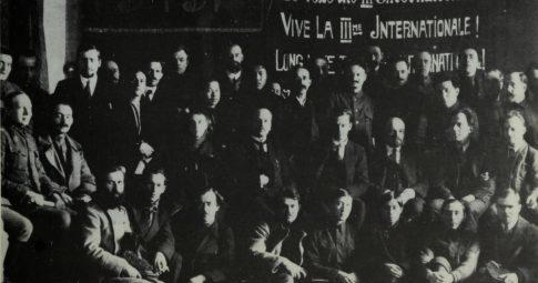Delegados do primeiro Congresso da Terceira Internacional - Reprodução