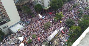 Servidores municipais ocupam ruas de São Paulo contra PL de Doria - Jornalistas Livres