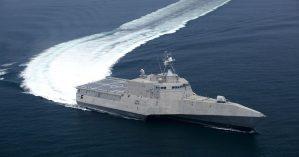 """Embarcação da marinha estadunidense  """"Littoral Combat Ship"""" - Marinha dos Estados Unidos"""