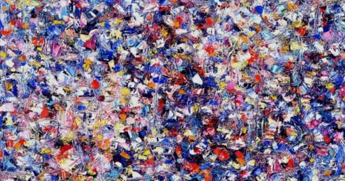 """""""Shellflower"""", Lee Krasner, 1947"""