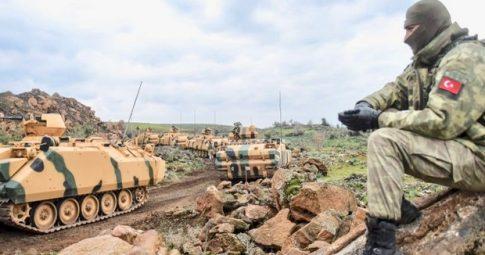 Tropas turcas na Síria miram militantes curdos - AFP
