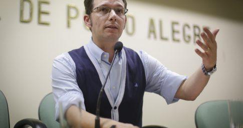 O vereador Alex Fraga -  Guilherme Santos/Sul21