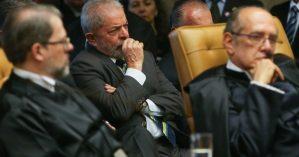Lula acompanha julgamento do STF. Reprodução