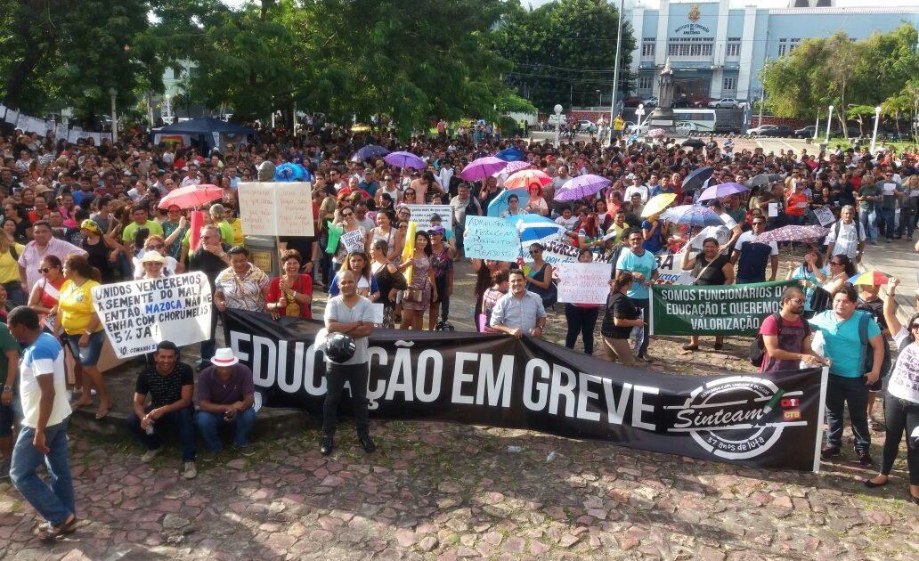 A vitória dos trabalhadores em educação do Amazonas