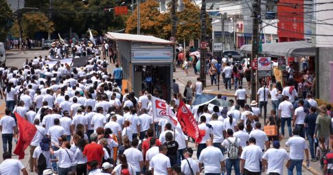 Manifestação do SINDPOL-PE no Recife
