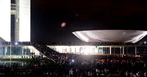 """As jornadas de Junho de 2013 manifestou a possibilidade de construirmos um """"partido das ruas"""" no Brasil - Evaristo Sa/AFP/Getty Images"""