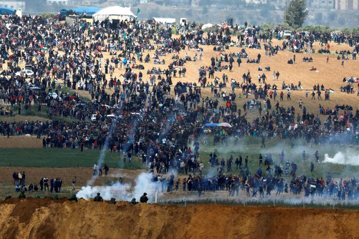 Repúdio à covarde repressão de Israel na Faixa de Gaza
