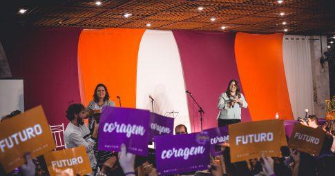 Lançamento da pré-candidatura de Sâmia Bomfim em 20 de maio de 2018. Foto: Carlos Esdras