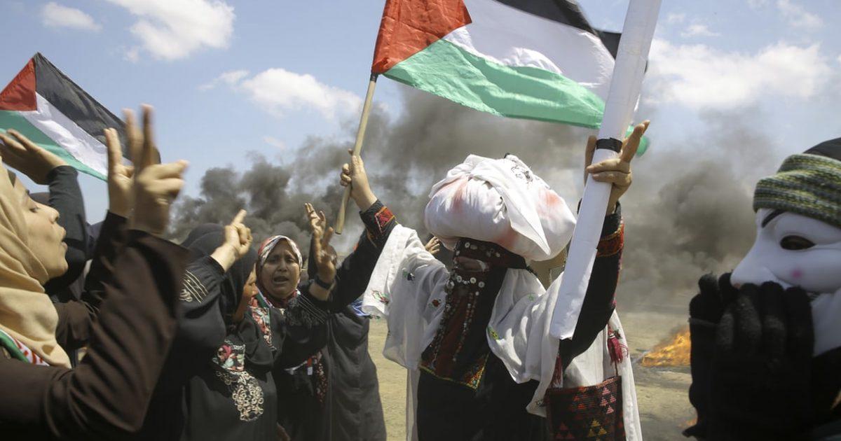Palestinos na abertura da embaixada dos EUA em Jerusalém e 70 anos da Nakba em curso