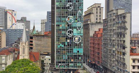 Edifício Wilton Paes de Almeida. Reprodução
