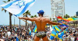 """Em sites de viagens e turismo, são recorrentes publicações que exibem Tel Aviv como uma cidade """"gay friendly"""", como ilustrado na foto acima - Reprodução"""