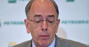 Pedro Parente, em uma entrevista na Petrobras, no Rio de Janeiro, em maio – CARL DE SOUZA/AFP