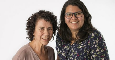 Dirlene Marques e Sara Azevedo - Reprodução