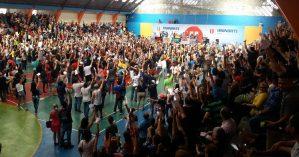 Em assembleia, trabalhadores da Educação do Amazonas decidem por entrar em greve em março deste ano - Reprodução
