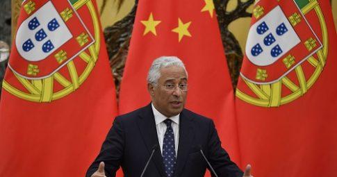 O Primeiro Ministro português Antonio Costa - Reprodução