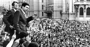 Vladimir Palmeira discursa durante a Passeata dos Cem Mil, no Rio de Janeiro - Reprodução
