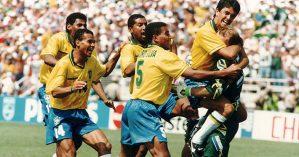 O Brasil se sagraria campeão da Copa de 94 - Reprodução