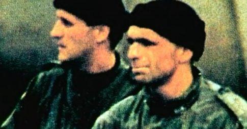 """Cena do curta """"Eu os saúdo, Saravejo"""" de Jean-Luc Godard, 1993."""