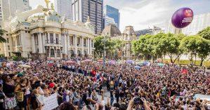 Milhares de pessoas acompanharam fúnebre de Marielle, em março, no Rio - Pablo Vergara