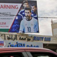 Golaço de solidariedade da Argentina