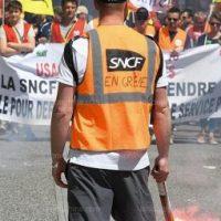 A todo vapor: a luta dos ferroviários na França