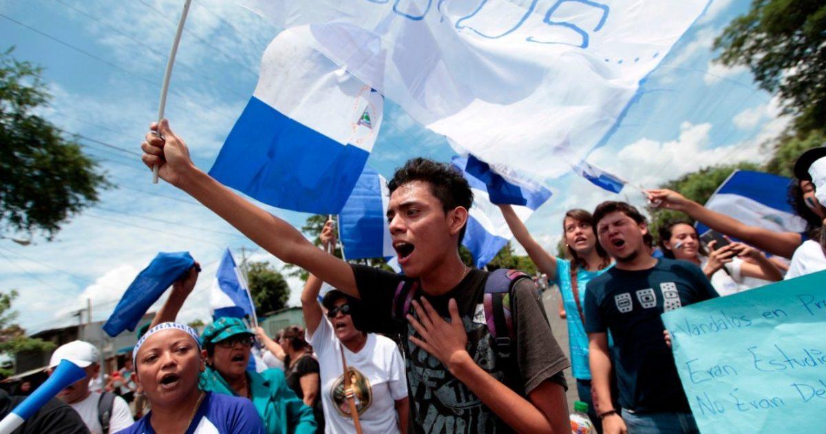É preciso estar com os jovens da Nicarágua