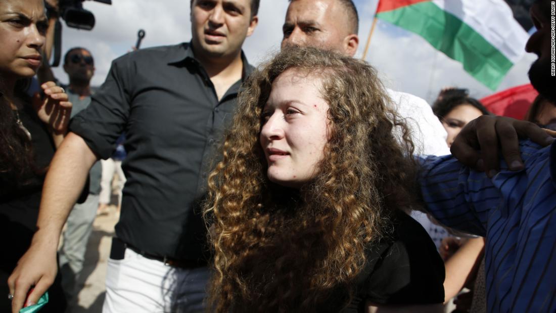 """Ahed Tamimi: """"Sou uma combatente pela liberdade. Não serei a vítima"""""""