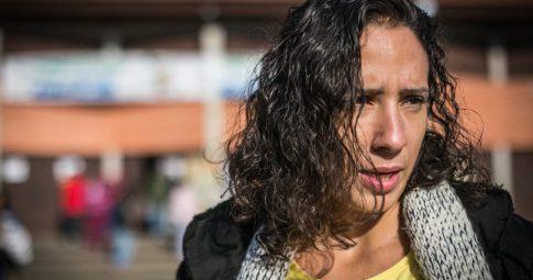 A viúva de Marielle Franco Mônica Benício em entrevista - Joana Berwanger/Sul21