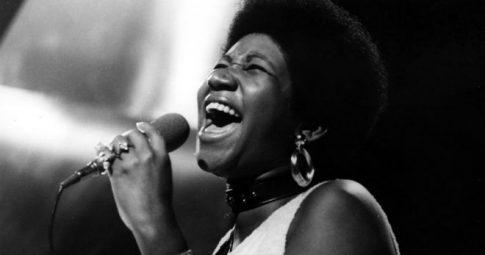 A cantora em 1968 - Reprodução
