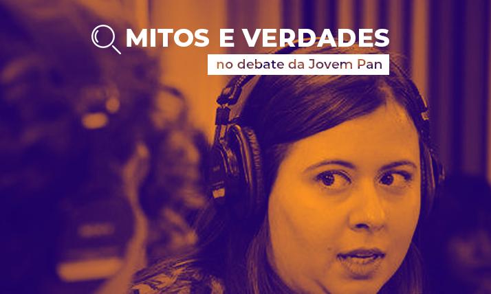 Mitos e verdades no debate da Jovem Pan: drogas
